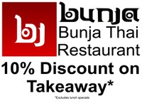 10% Takeaway Discount