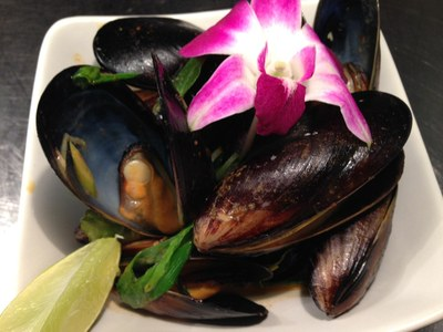 Curry Mussels